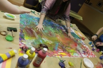 Collaborative Painting Piece