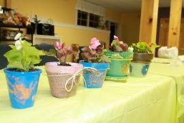 Painted Terra Cot Pots