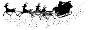 stock-illustration-2487141-silhouette-of-santa-s-sleigh